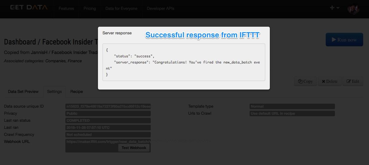 Ifttt test webhook 2