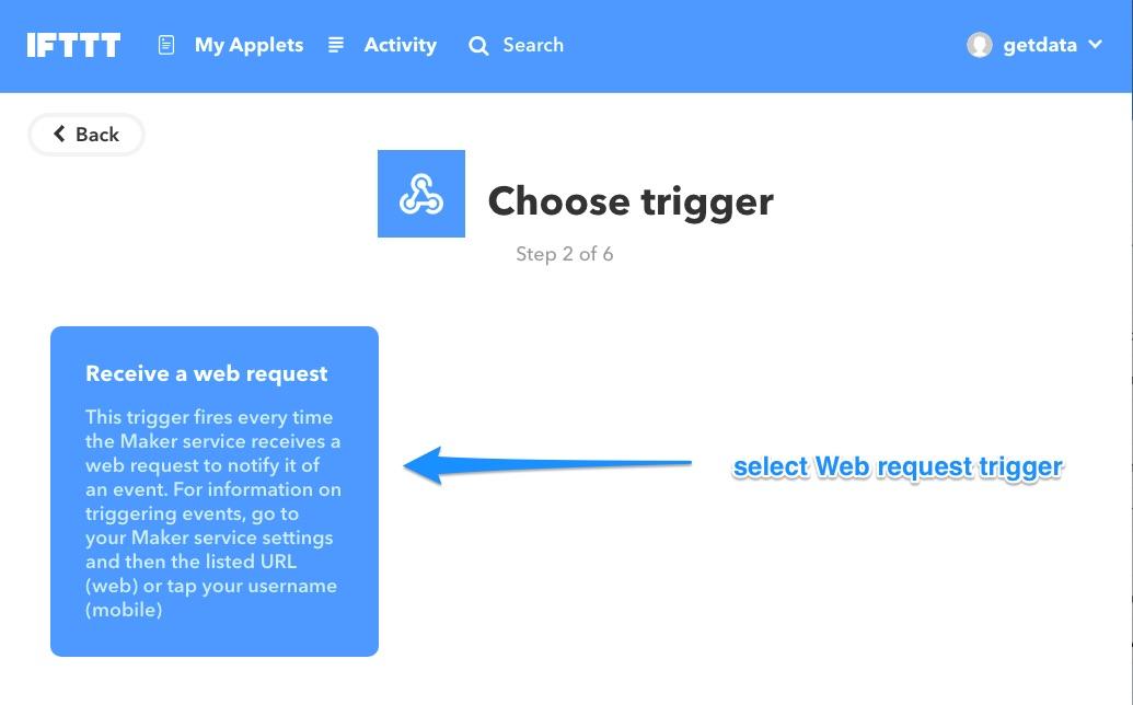 Ifttt web request trigger